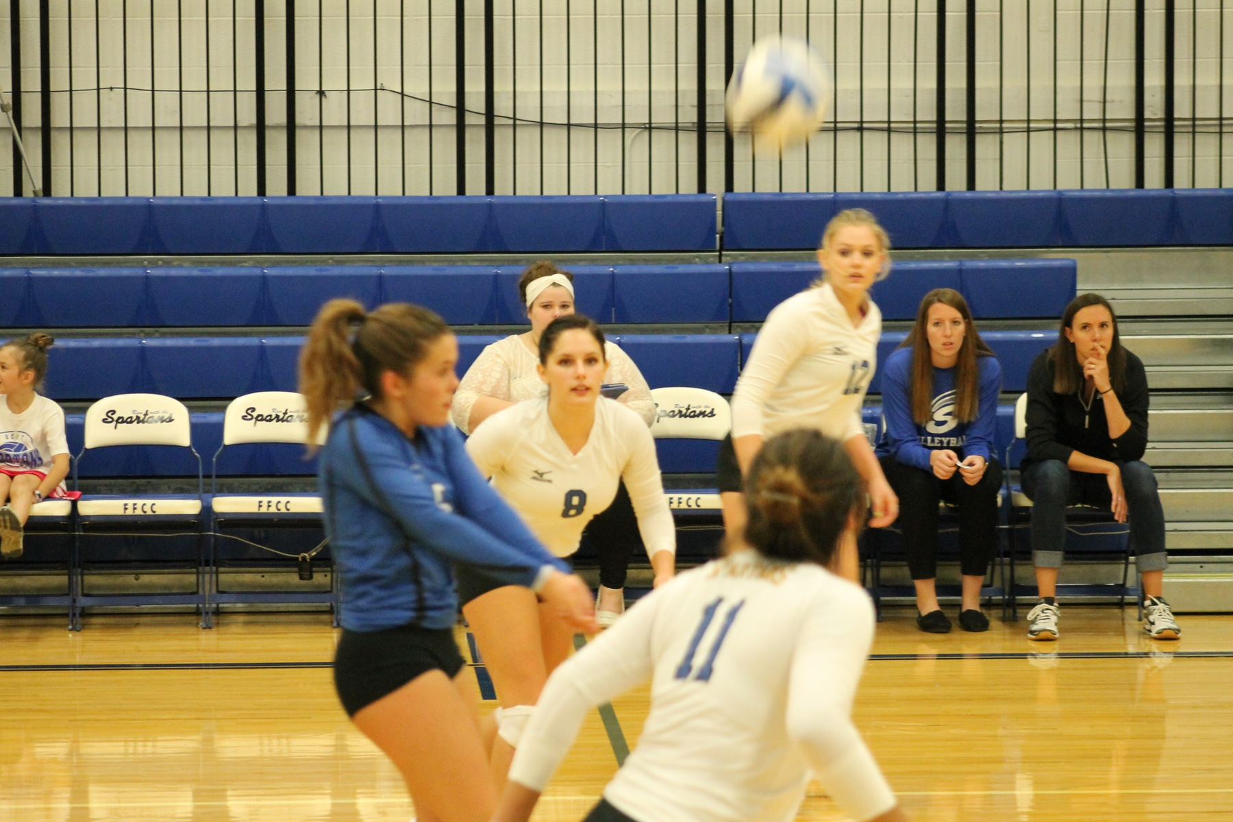 Spartans Sweep Cobbers JV