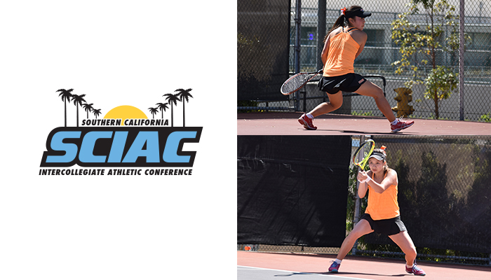 Moriyama, Zhou Named All-SCIAC