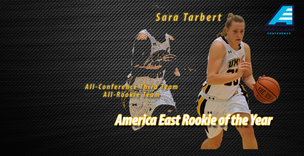 Tarbert Tabbed America East Rookie of the Year; McCarley Named to the All-Rookie Team