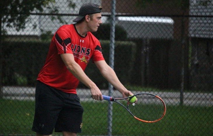 Men's Tennis Drops 6-3 Decision at Bentley