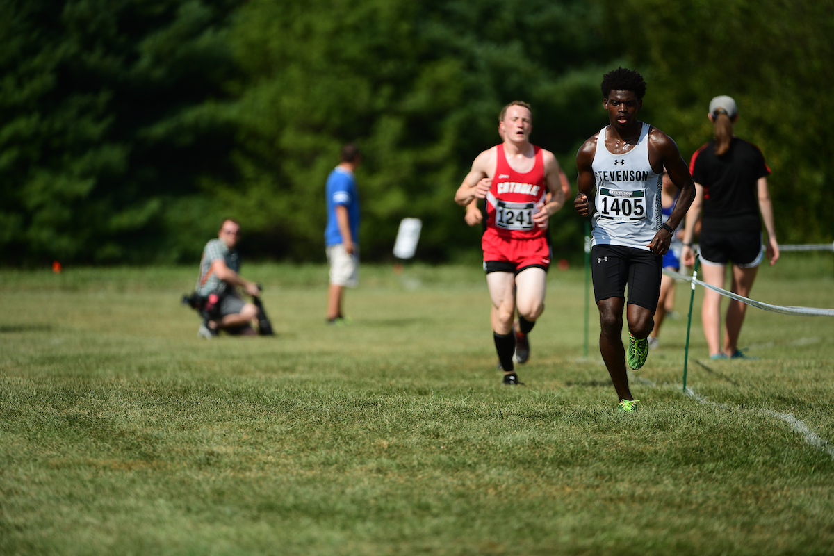 Gash Leads Mustangs to 11th Place at DeSales Invitational