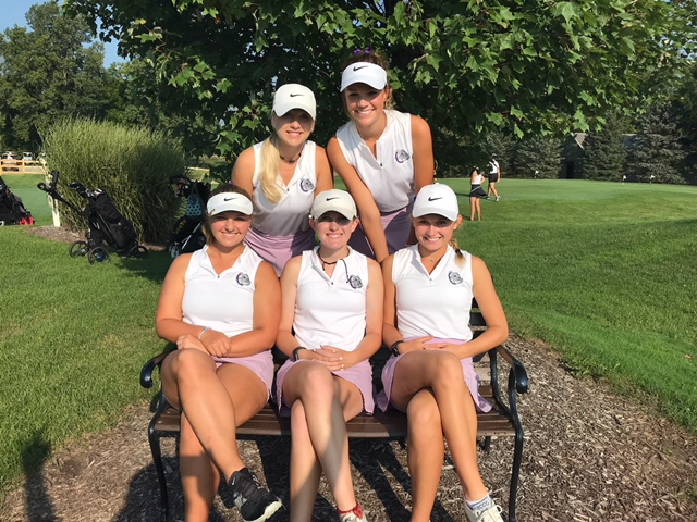 Girls' Golf Places 4th at HCC