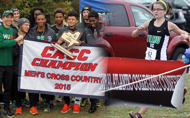 Wildcats' Men Claim Team Championship; Megan Ferrick Wins Runner of the Year at 2015 CACC Cross Country Championships