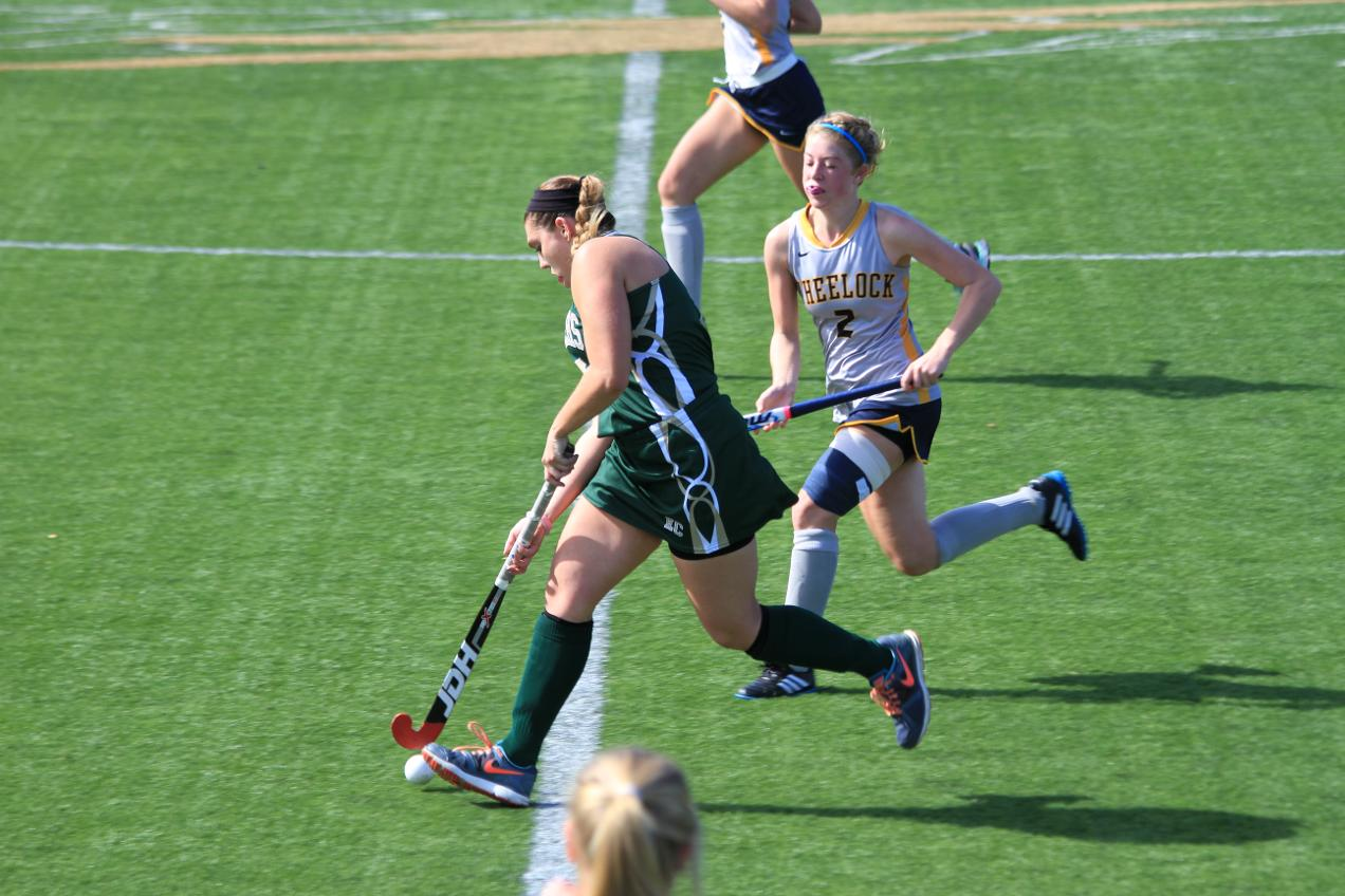 Field Hockey Drops Conference Tilt to Wheelock