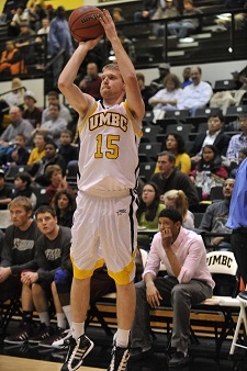 Brian Neller hit four treys and moved into 7th place on UMBC's all-time list.