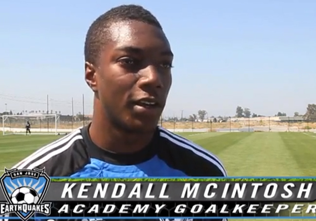 US National Team's U-20 Roster for this Week's Mexico Camp Includes SCU's Kendall McIntosh