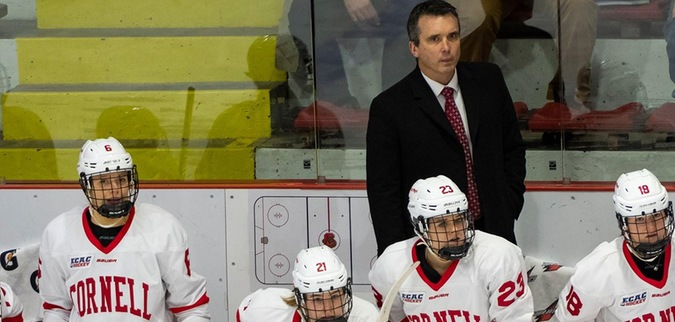 Derraugh picks up 250th Win, Cornell blanks No. 9 St. Lawrence