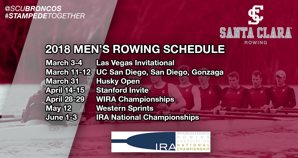 Men's Rowing Announces 2018 Schedule