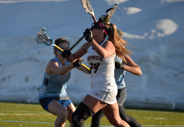 Women's Lacrosse: Lamarre Nets Game Winner to Lead Norwich to 11-10 OT Victory against Lasell