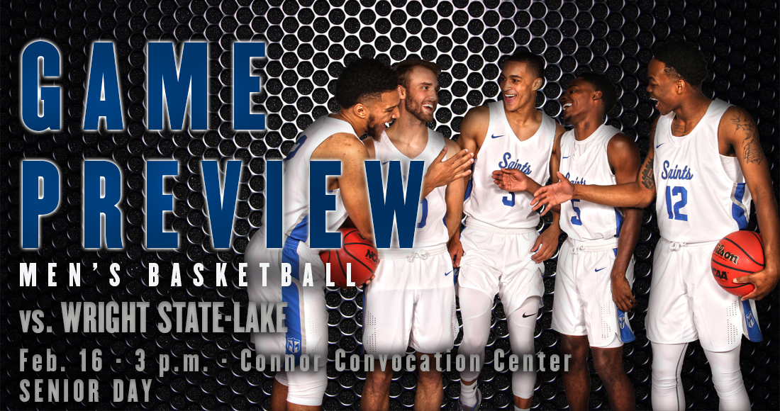 Men's Basketball Hosts Wright State-Lake for Senior Day Saturday