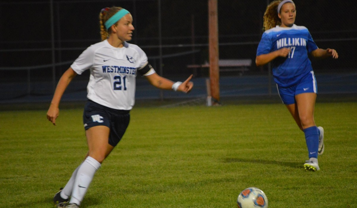 Westminster Women's Soccer Picks Up Conference Win at Spalding