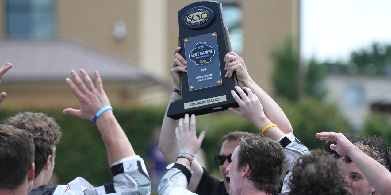 Colorado College Holds Off Southwestern for SCAC Men's Lacrosse Title