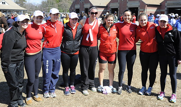 Cougars Finish Seventh At NEWMAC Championships