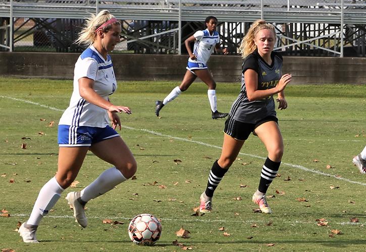 Blinn College women's soccer falls to No. 1 Tyler, 2-0