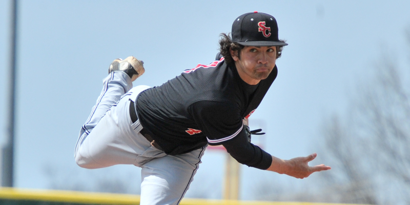 Baseball splits with Coe in conference opener