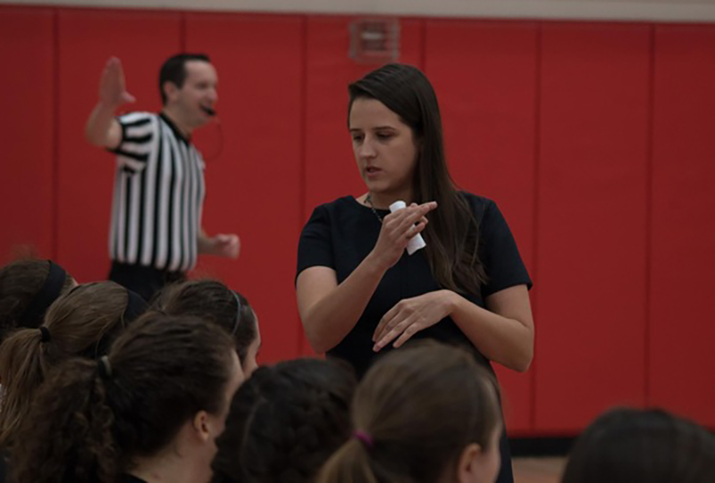 Katie Nelson has stepped down as MSOE head women's basketball coach after three seasons at the helm.