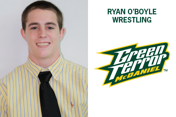 O'Boyle finishes second at 133