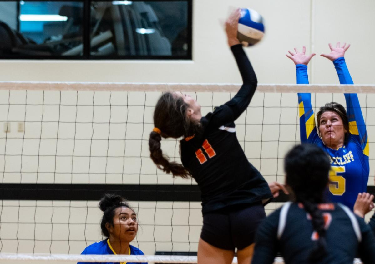 Volleyball Blanks WCB for Third-Straight Win