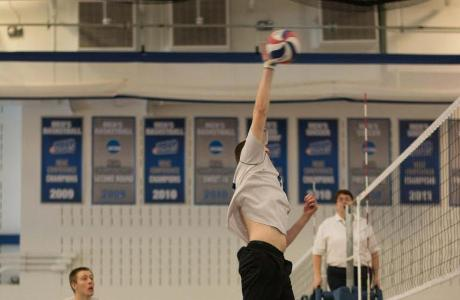 Men's Volleyball Downed in Conference Action; Senior Day Tomorrow at Noon