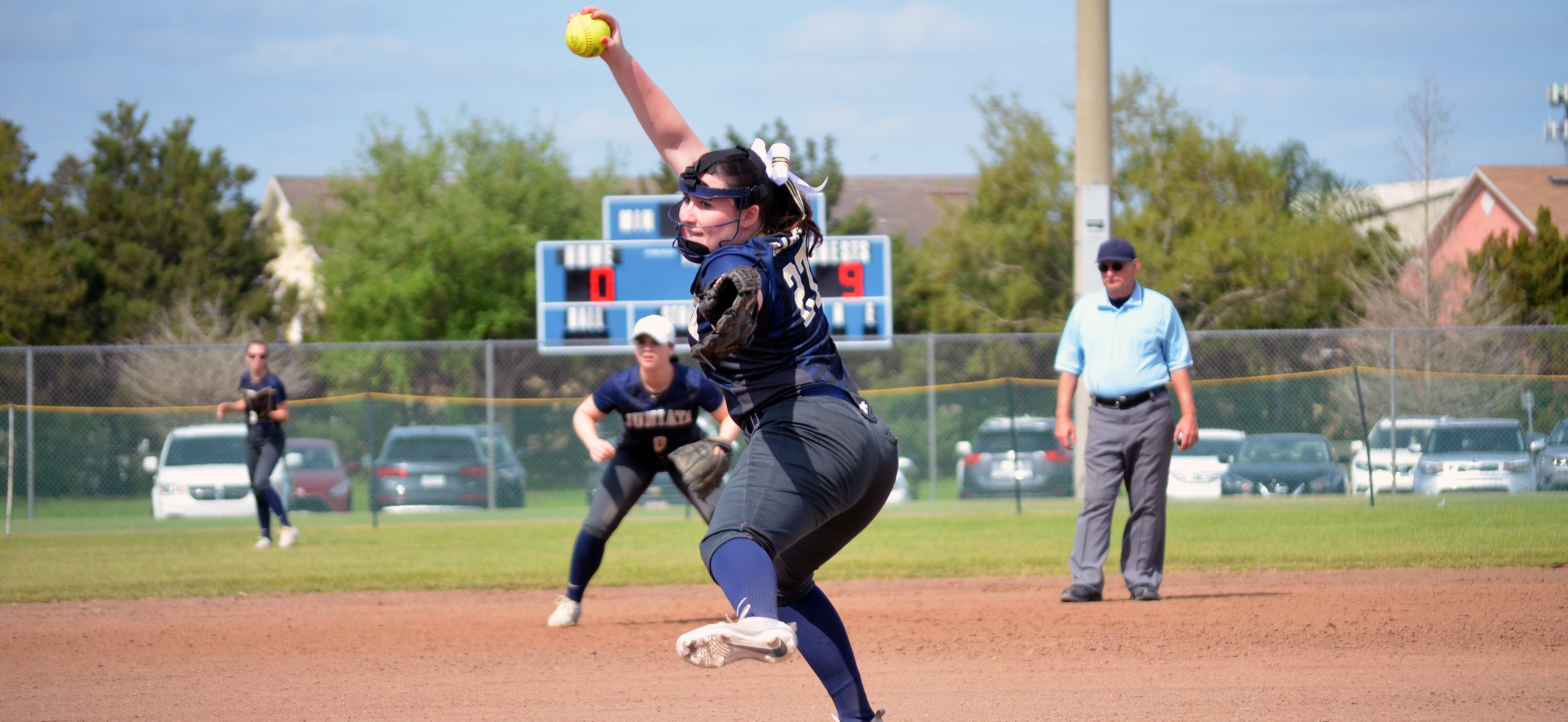 Softball Falls to Millsaps and Salve Regina
