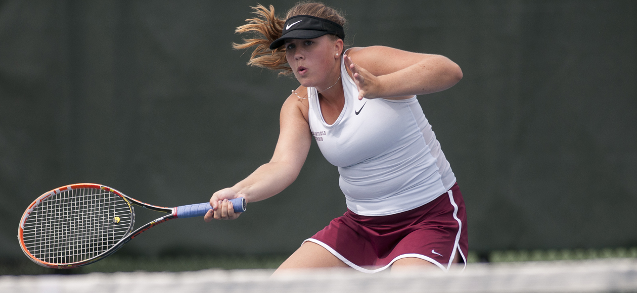 Women's Tennis Wraps Up NEWMAC Slate at Wellesley