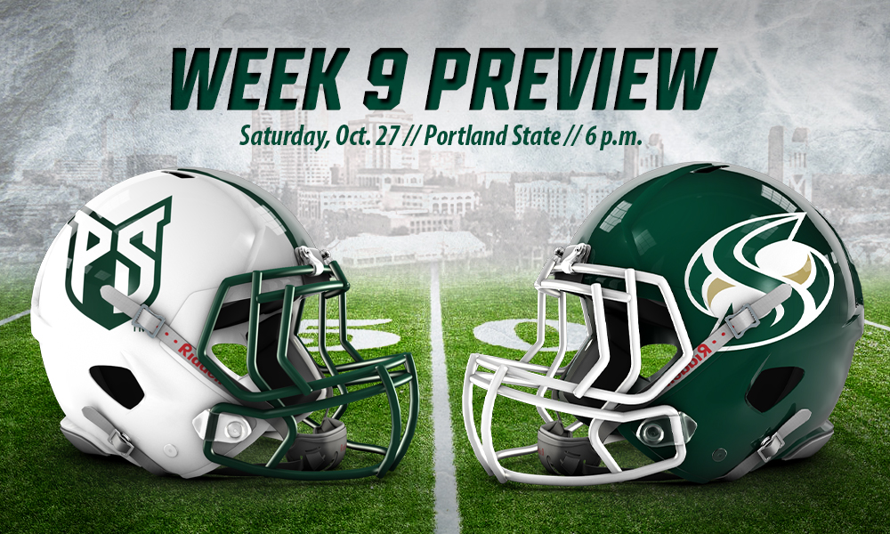 FOOTBALL HOSTS PORTLAND STATE FOR SECOND STRAIGHT HOME GAME