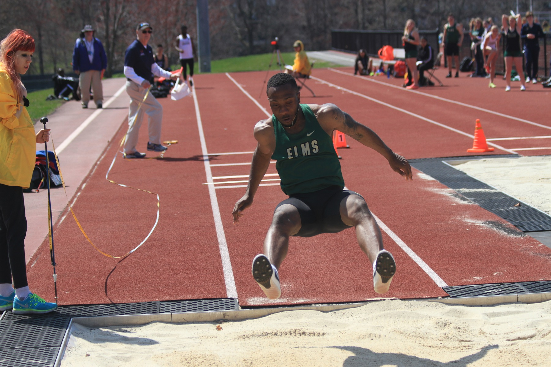 Trifon Bish Claims DIII New England Long Jump Championship