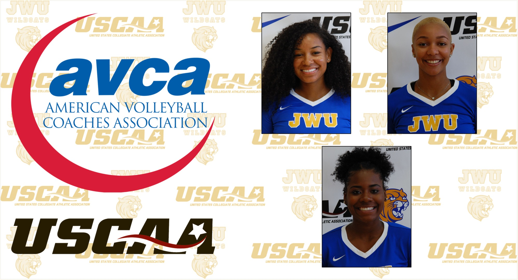 Wildcat Trio Named AVCA-USCAA All-Americans