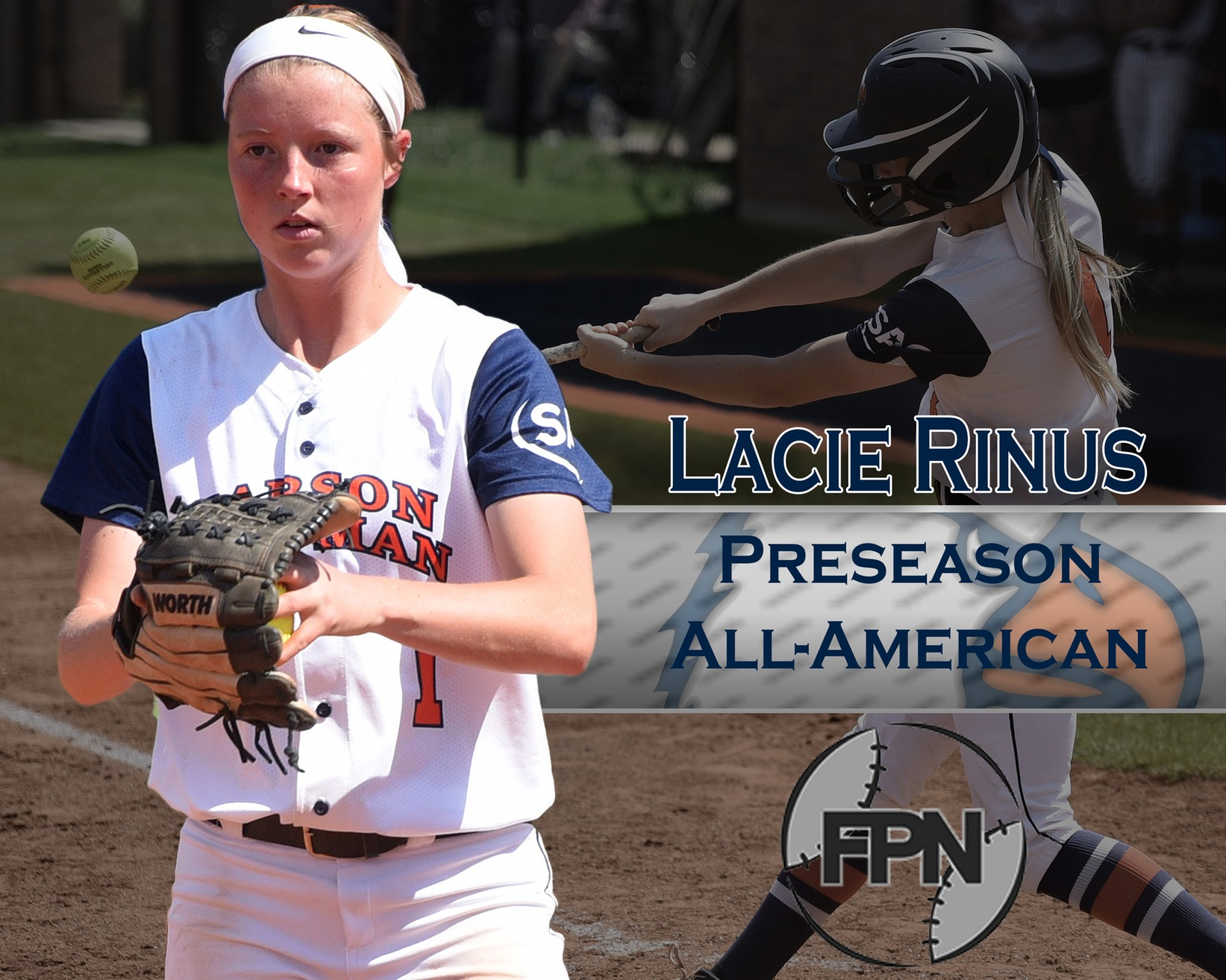 Fast Pitch News names Rinus to preseason All-America first team