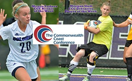 Stott and Ladner Garner CCC Weekly Honors