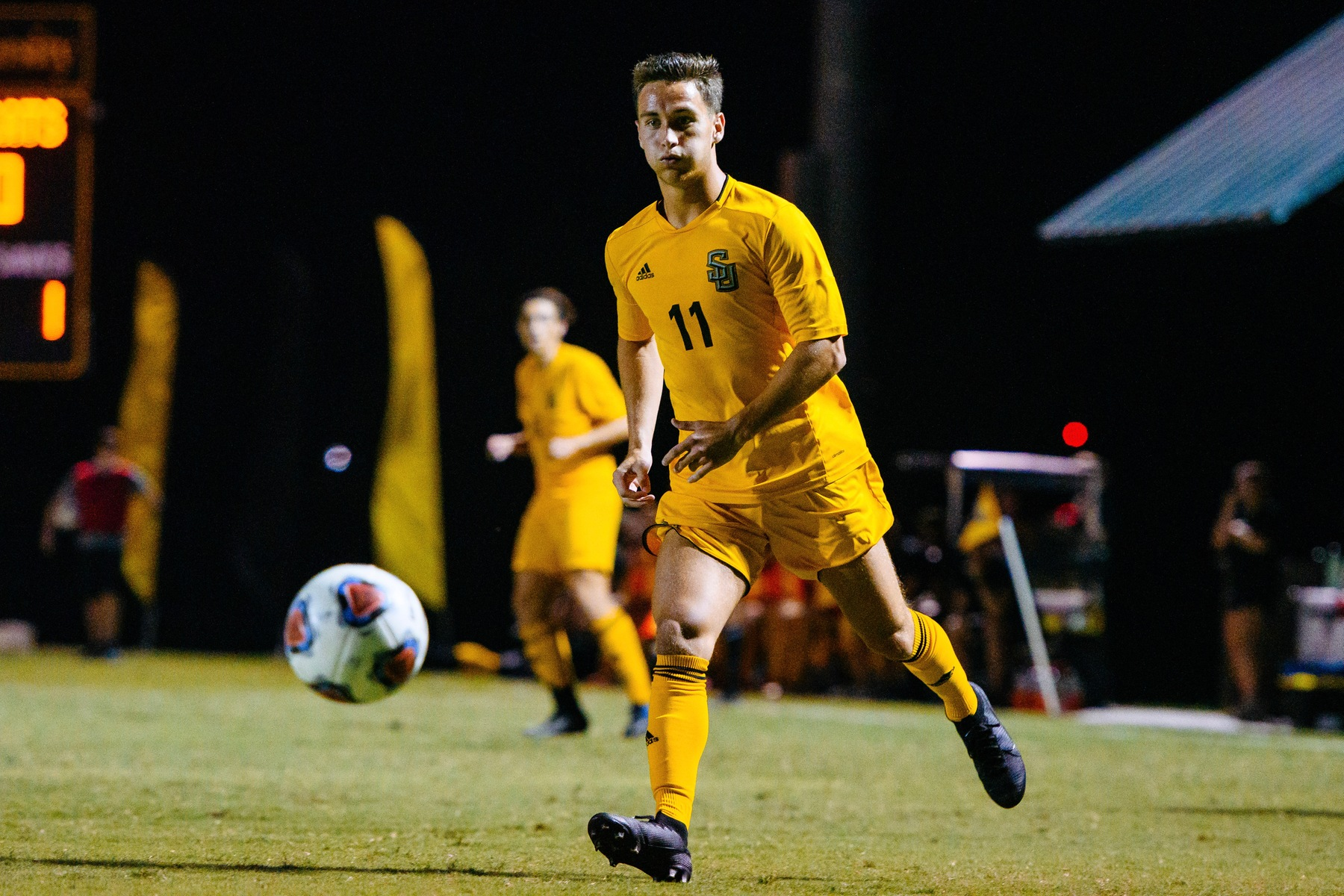 Seth Holzmann's Two Goals and Assist Leads Men's Soccer Past Colorado College