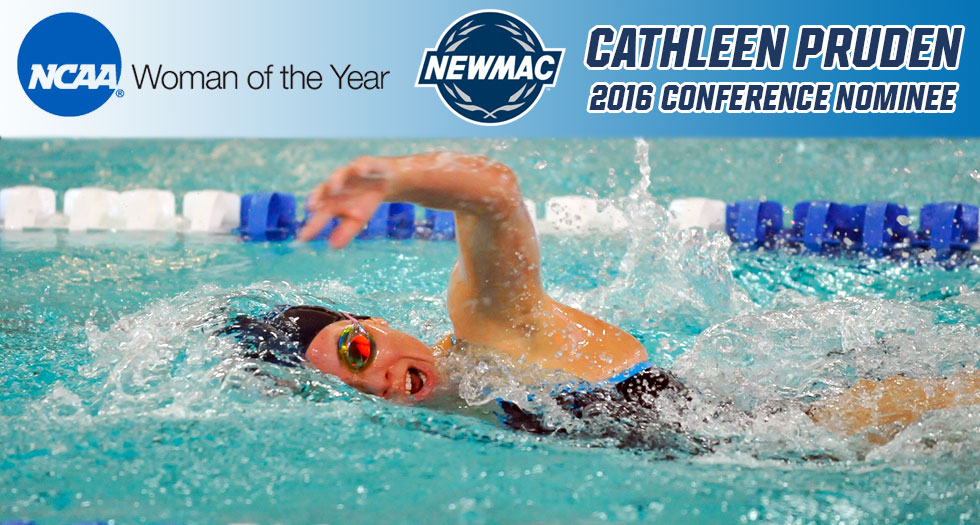 Pruden Selected as NEWMAC Honoree for 2016 NCAA Woman of the Year Award