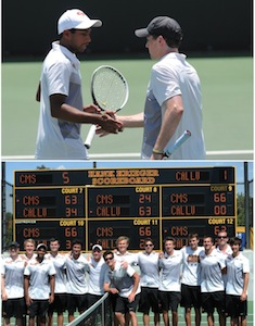Neel Kotrappa and Skyler Butts; Stags Win NCAA West Regional (Photos John Valenzuela)