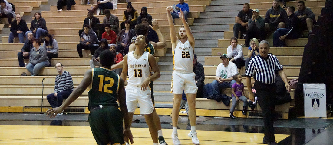 Men's Basketball Cruises To Fourth-Straight Win With Victory Over Wright State-Lake