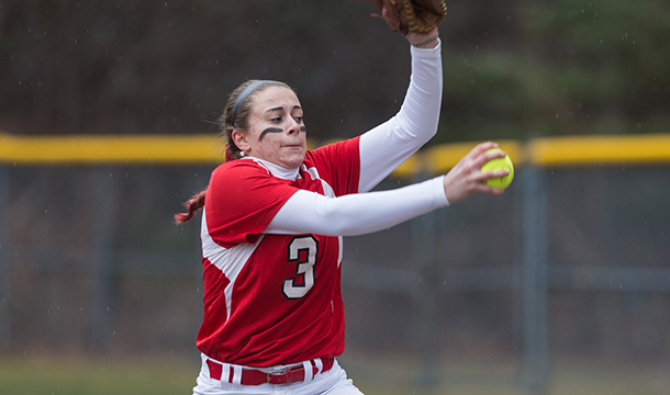 Sami West struck out a career-high 15 and threw a no-hitter in the season-opening 3-0 win.