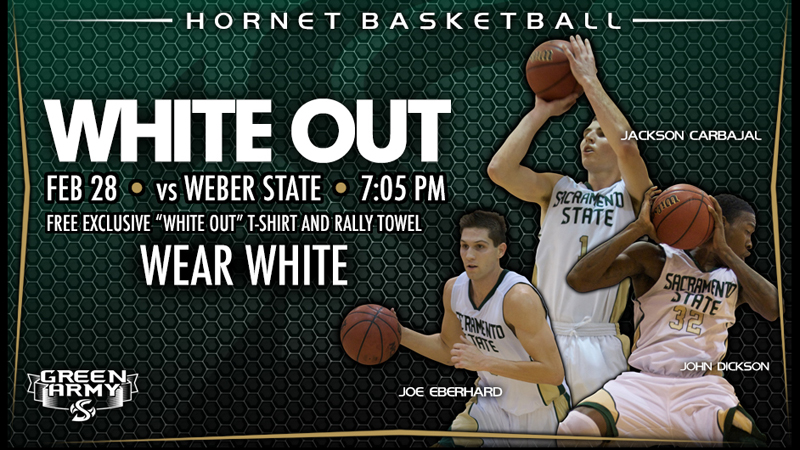 WHITEOUT PLANNED FOR THURSDAY NIGHT'S MEN'S BASKETBALL GAME