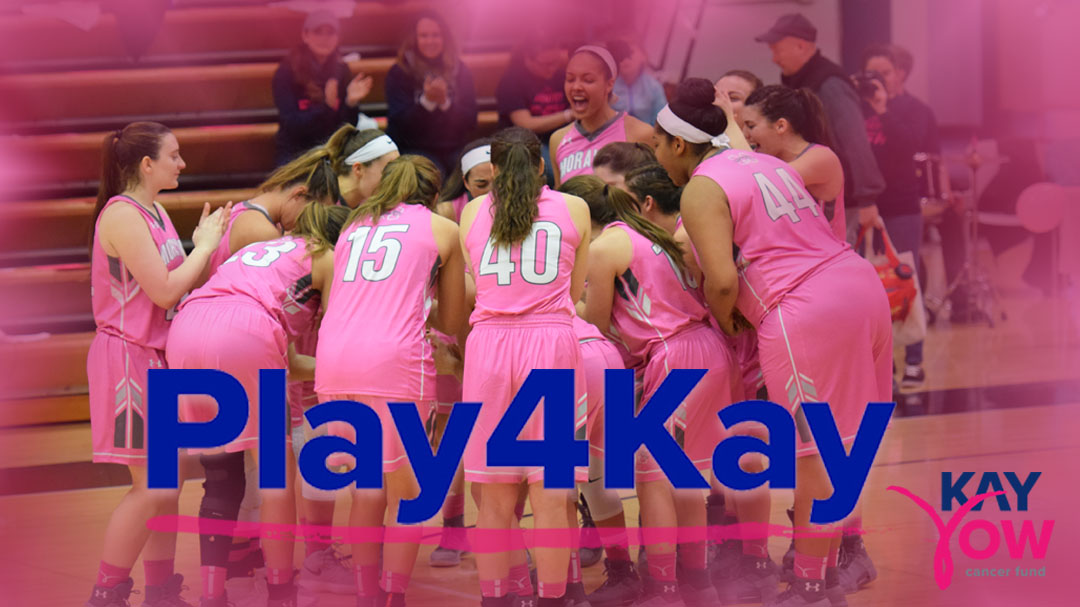 2019 Play4Kay Week to raise money for the Kay Yow Cancer Fund is set for February 3-9, 2019.
