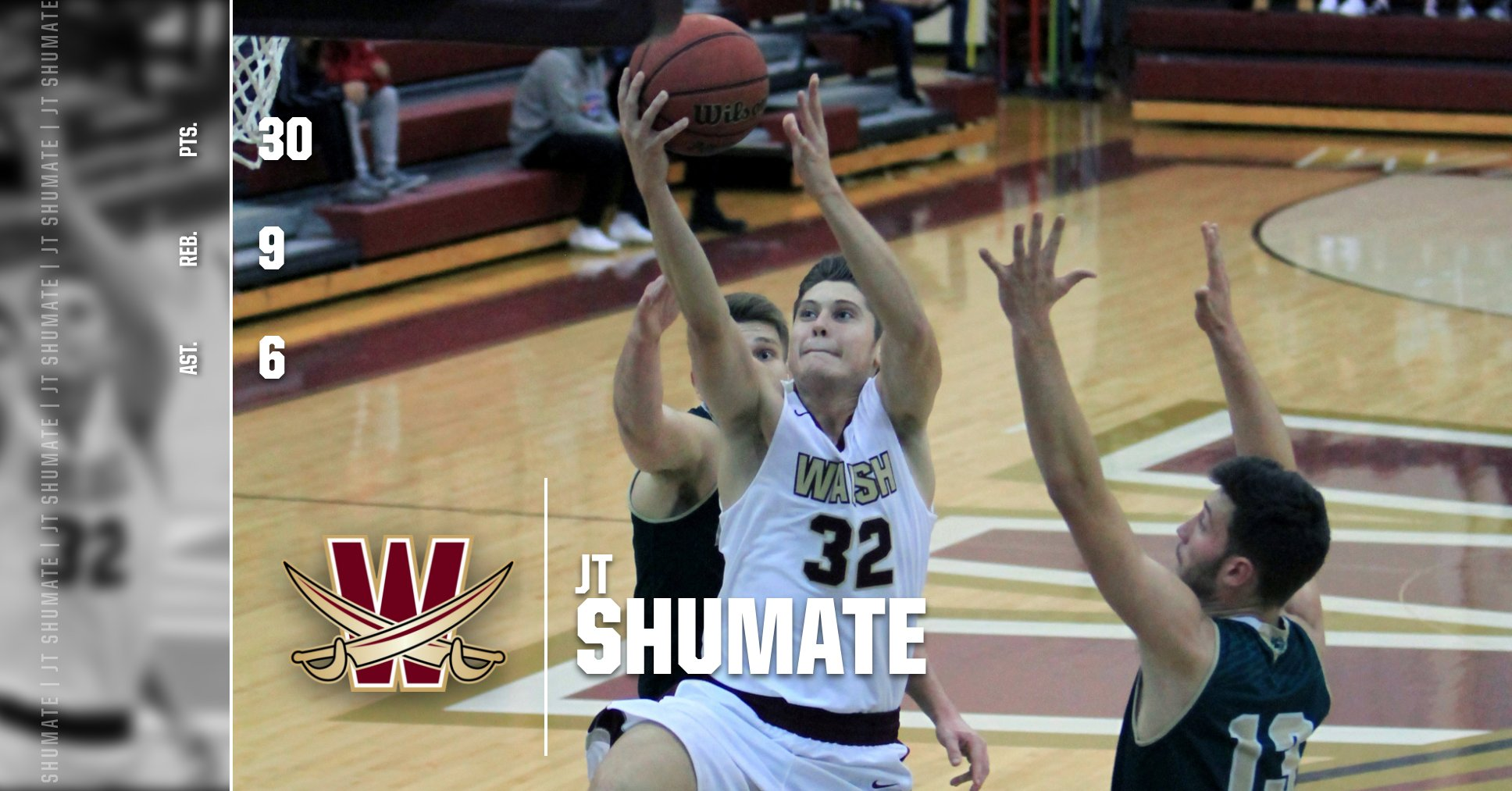 Shumate Paces Cavs with a Career-High 30 Points in Win over Cedarville
