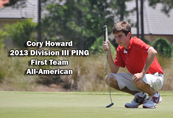 Golf: Howard selected as Division III All-American to cap 2012-13 season