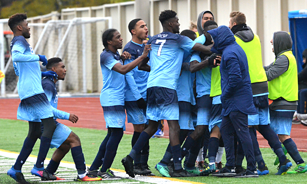 Men's soccer falls to Humber in OCAA title game