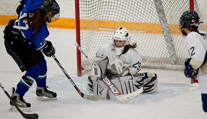 Women's Hockey Has Strong Night Against No. 8 Falcons
