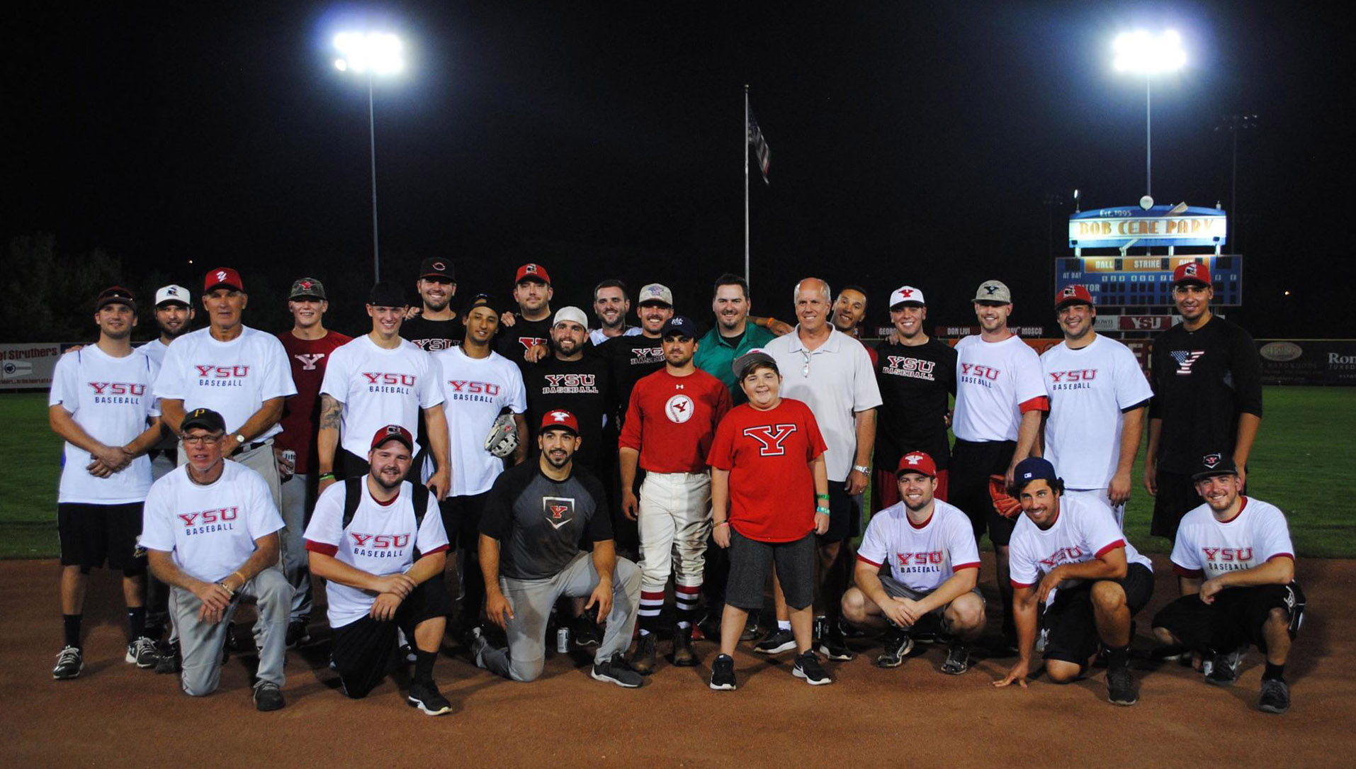 2016 YSU Baseball Alumni Game