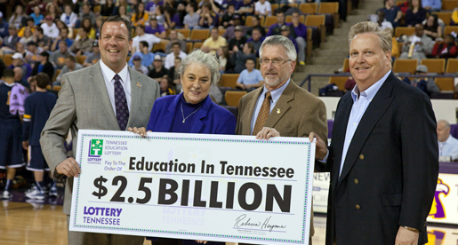 Tennessee Education Lottery continues to support Tennessee Tech