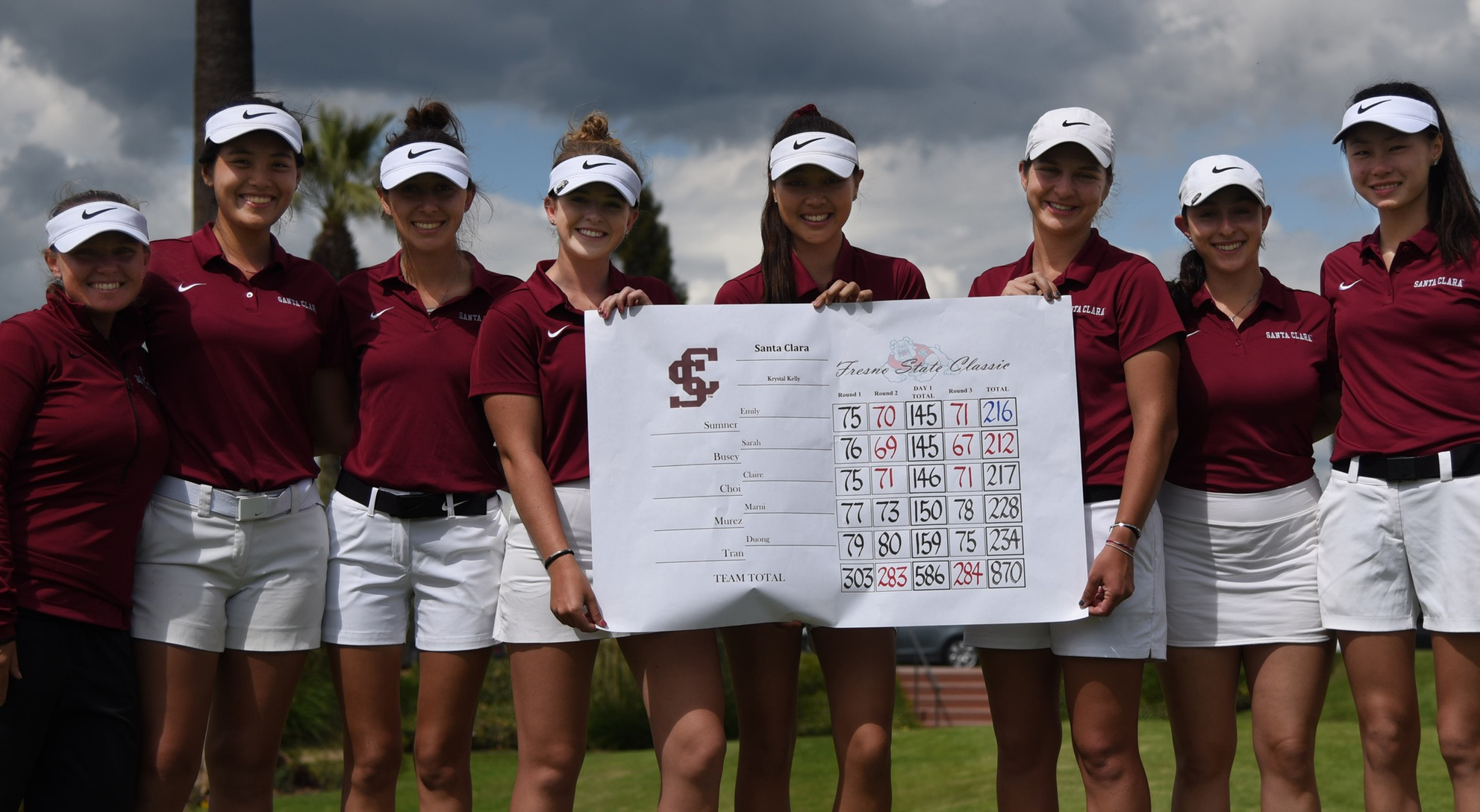 Busey Grabs Podium Finish; Three Women's Golfers Among Top 10 At Fresno State Classic