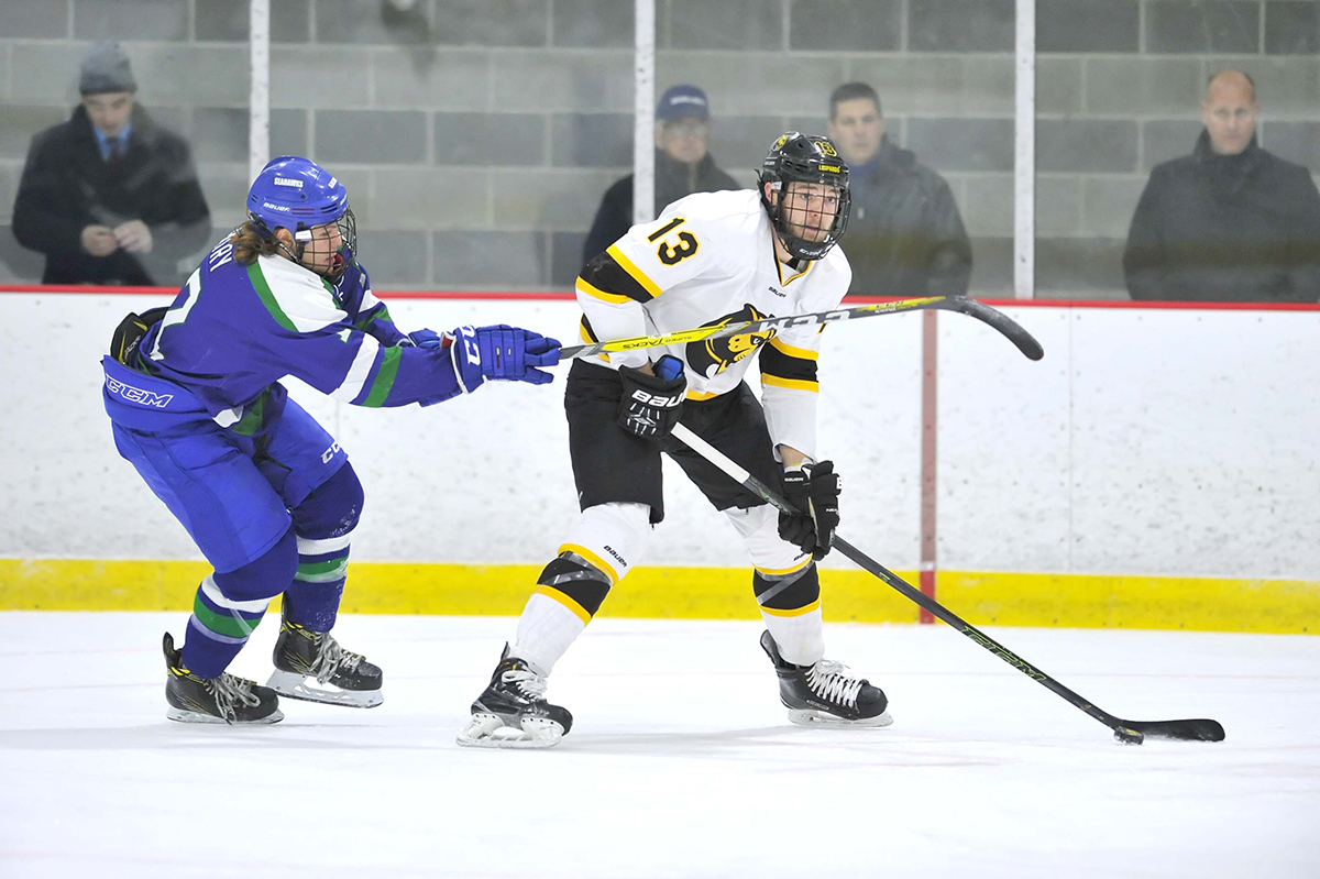 Hockey Falls to UMass Boston in Season Opener