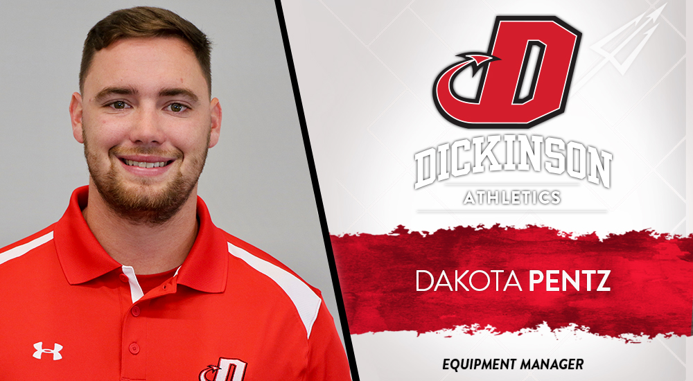Pentz Named Equipment Manager at Dickinson