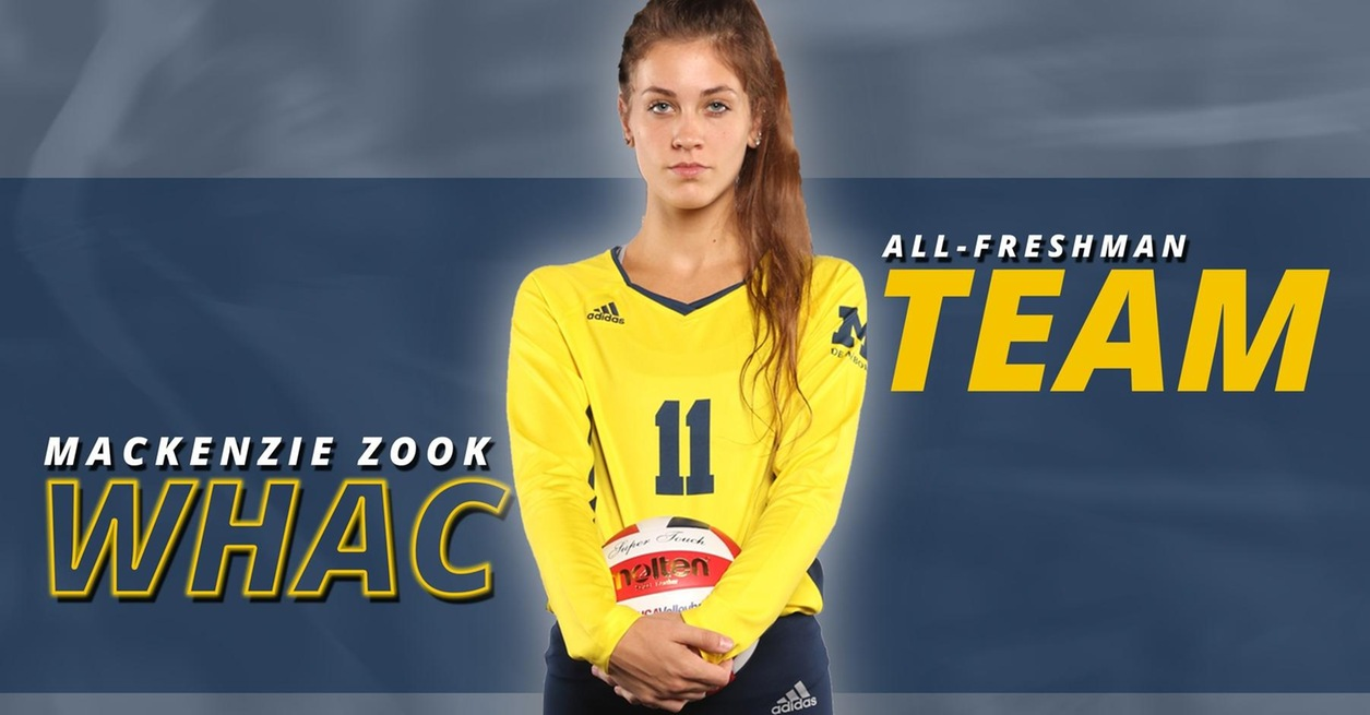 Zook named to WHAC All-Freshman Team