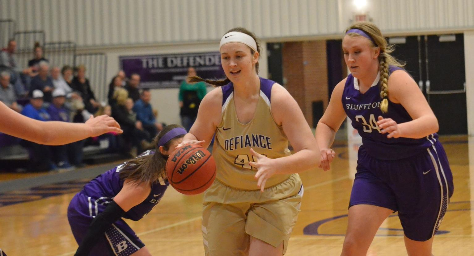 Second Half Woes Sink Defiance College in Season Opener