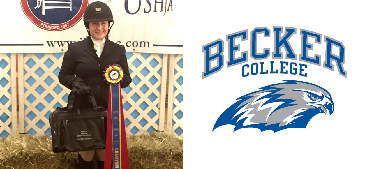 Kirby Kojabashian Wins Zone One Novice Equitation Over Fences Champion