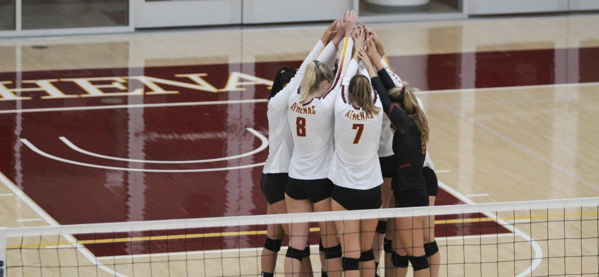 Chapman Comes Back from 2-0 Down to Hand CMS Volleyball First SCIAC Loss